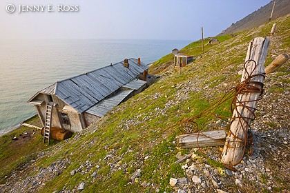 Abandoned Cold War outpost, Cape Dezhnev